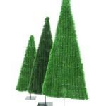 vánoční dekorativní stromky