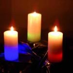 vánoční dekorativní svíčky