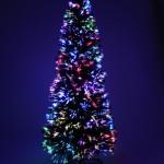 vánoční stromek s osvětlením